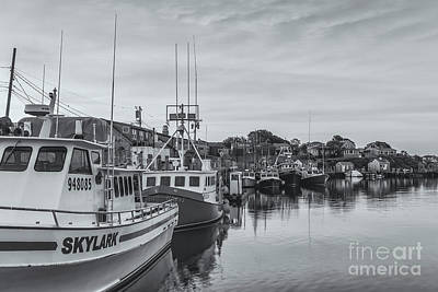 Photograph - Menemsha Fishing Boats Iv by Clarence Holmes