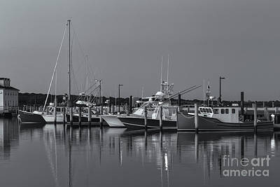 Photograph - Menemsha Fishing Boats Viii by Clarence Holmes