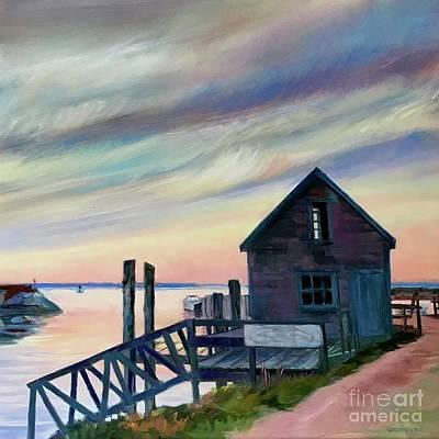 Painting - Menemsha Shack by Lynne Schulte