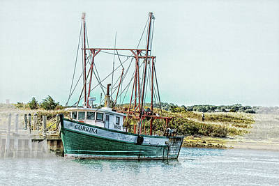 Photograph - Menemsha Trawler by Constantine Gregory