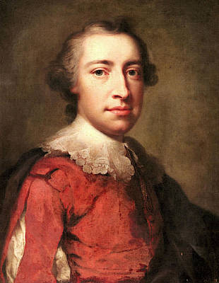 Anton Digital Art - Mengs Anton Raphael Portrait Of A Gentleman by Anton Raphael Mengs