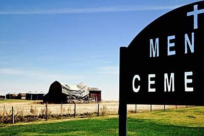 Photograph - Mennie Cemetery by Brian Sereda