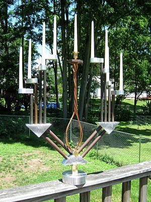 Photograph - Menorah by Tony Murray