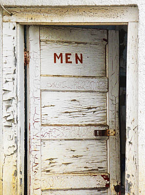 Men's Room Art Print by Marilyn Hunt