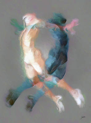 Mental Painting - Mental Equilibrium by Joaquin Abella