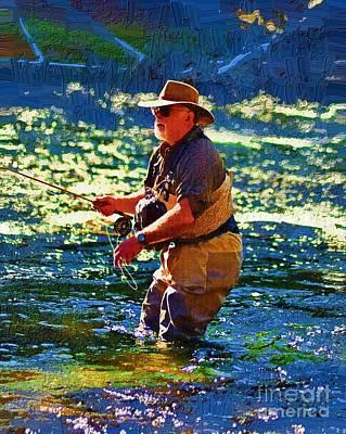 Yellowstone Digital Art - Mental Health Day by Diane E Berry