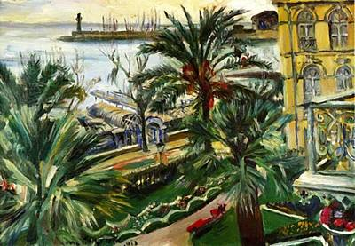 Painting - Menton 1913 by Corinth Lovis
