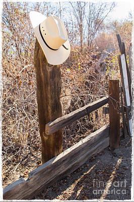 Mentryville Cowboy Hat Original by Scott Parker