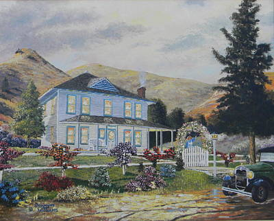 Painting - Mentryville by Duwayne Williams