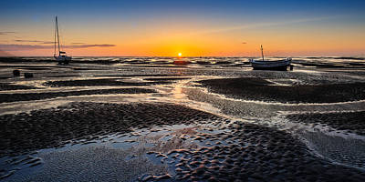 Photograph - Meols Sunset by Peter OReilly