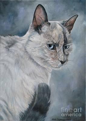 Painting - Meow by Heidi Parmelee-Pratt