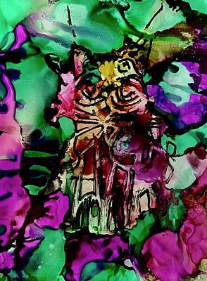 Painting - Meow by Tommy McDonell