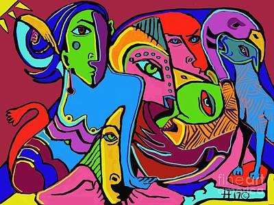 Digital Art - Mer Woman by Hans Magden