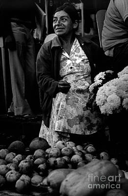 Photograph - Mercado Mi Mujer-signed by J L Woody Wooden