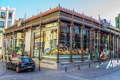 Photograph - Mercado San Miguel, Madrid by Venetia Featherstone-Witty