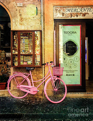 Photograph - Mercante Tedora Bicycle by Craig J Satterlee
