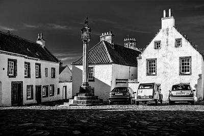 Photograph - Mercat Cross Culross by Alex Saunders