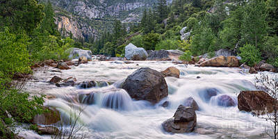 Photograph - Merced Rapids by Anthony Bonafede