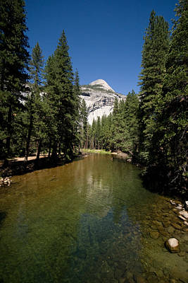 Farmhouse Rights Managed Images - Merced River #2 Royalty-Free Image by Robert J Caputo