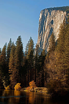 Photograph - El Capitan, October Afternoon by Dana Sohr