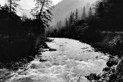 Photograph - Merced River Canyon by Richard Delbridge