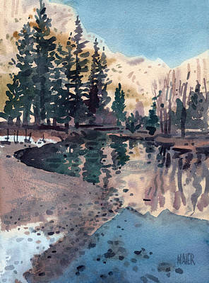 Merced River In January Original