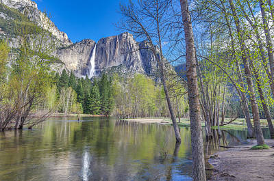 Art Print featuring the photograph Merced River In Spring by Scott McGuire