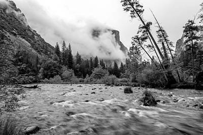 Giuseppe Cristiano Royalty Free Images - Merced RIver Royalty-Free Image by Mike Ronnebeck