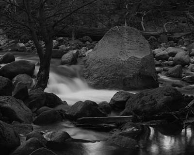 Photograph - Merced River Rocks by Dusty Wynne
