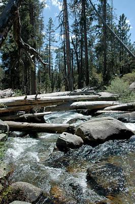 National Park Photograph - Merced River Rocks by LeeAnn McLaneGoetz McLaneGoetzStudioLLCcom