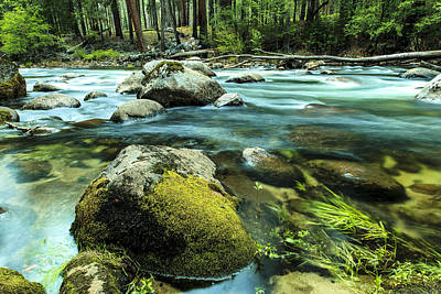 Photograph - Merced River Yosemite 2 by Ben Graham