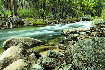 Photograph - Merced River Yosemite by Ben Graham