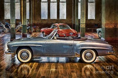 Photograph - Mercedes 190sl by Stuart Row