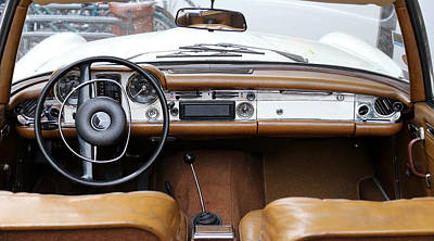 Photograph - Mercedes 280 Sl D by Andrew Fare