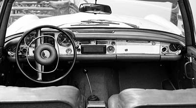 Photograph - Mercedes 280 Sl E by Andrew Fare