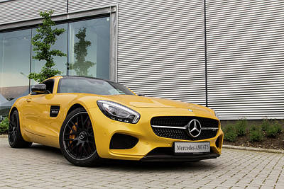 Photograph - Mercedes-amg Gt S V8 Biturbo by 2bhappy4ever