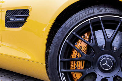 Photograph - Mercedes-amg Gt S V8 Biturbo In Detail by 2bhappy4ever