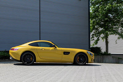 Photograph - Mercedes-amg Gt S V8 Biturbo On The Right by 2bhappy4ever