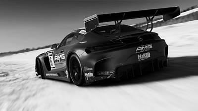 Photograph - Mercedes Amg Gt3 - 26 by Andrea Mazzocchetti