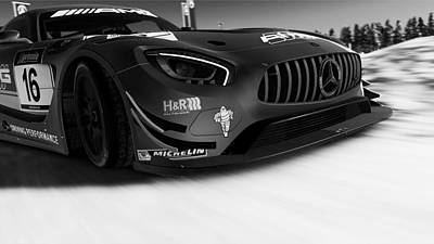 Photograph - Mercedes Amg Gt3 - 31 by Andrea Mazzocchetti