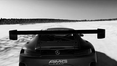Photograph - Mercedes Amg Gt3 - 34 by Andrea Mazzocchetti