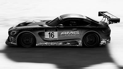 Photograph - Mercedes Amg Gt3 - 45 by Andrea Mazzocchetti