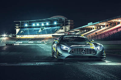 Photograph - Mercedes-amg Gt3 by Gijs Spierings