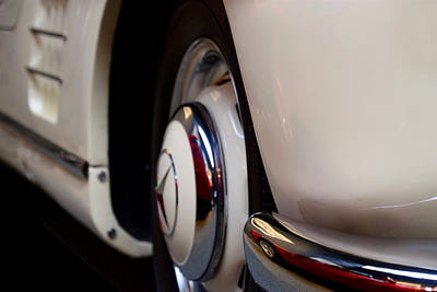 Photograph - Mercedes Benz 300 Sl Front Corner Profile by ISAW Gallery