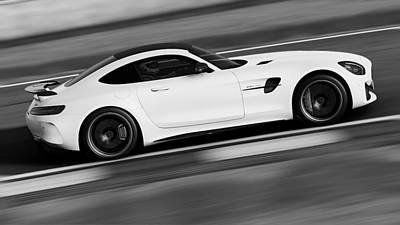 Photograph - Mercedes Benz Amg Gtr - 05 by Andrea Mazzocchetti