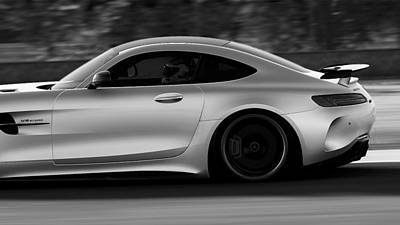 Photograph - Mercedes Benz Amg Gtr - 09 by Andrea Mazzocchetti