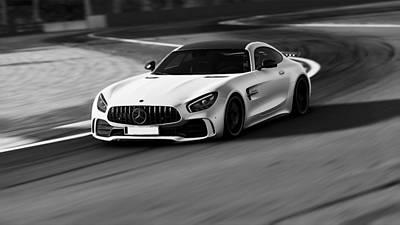 Photograph - Mercedes Benz Amg Gtr - 31 by Andrea Mazzocchetti