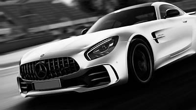 Photograph - Mercedes Benz Amg Gtr - 33 by Andrea Mazzocchetti