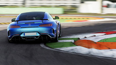 Photograph - Mercedes Benz Amg Gtr - 34 by Andrea Mazzocchetti