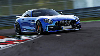 Photograph - Mercedes Benz Amg Gtr - 36  by Andrea Mazzocchetti